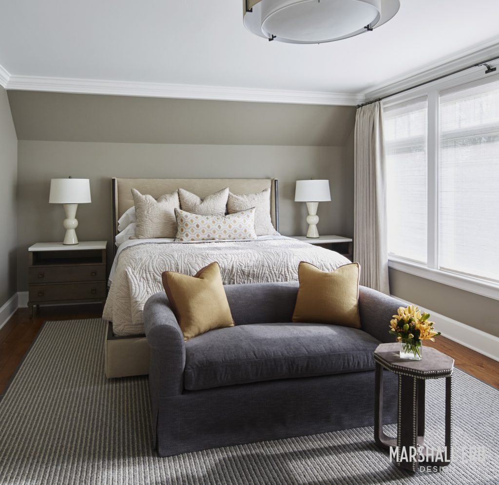 Marshall Erb bedroom design
