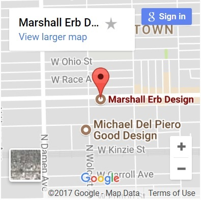 Marshall Erb Design Chicago Google Map