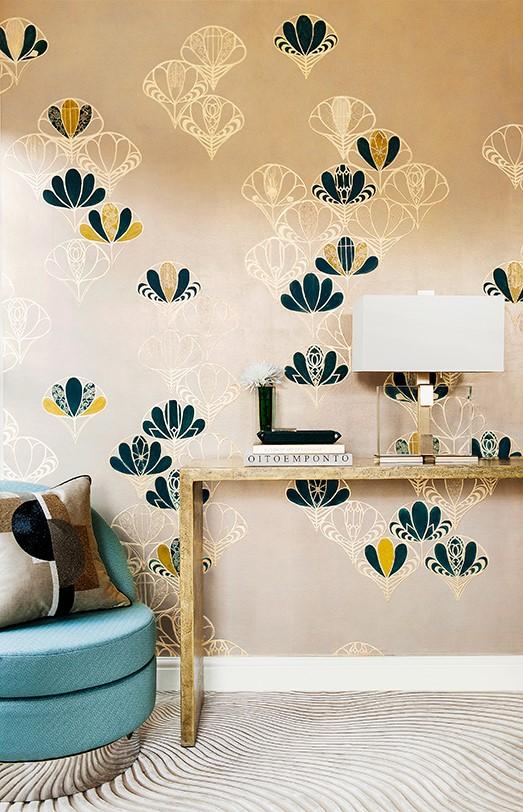 brushed pattern designs