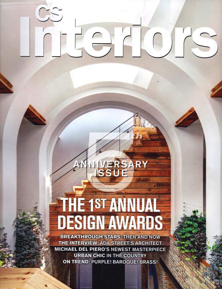 CS Interiors - Fall 2012 Cover