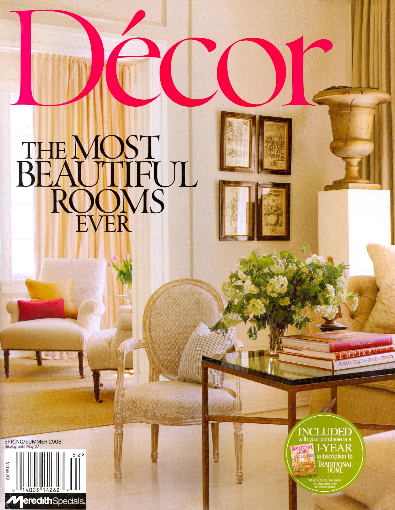 Décor Spring-Summer 2008 Cover