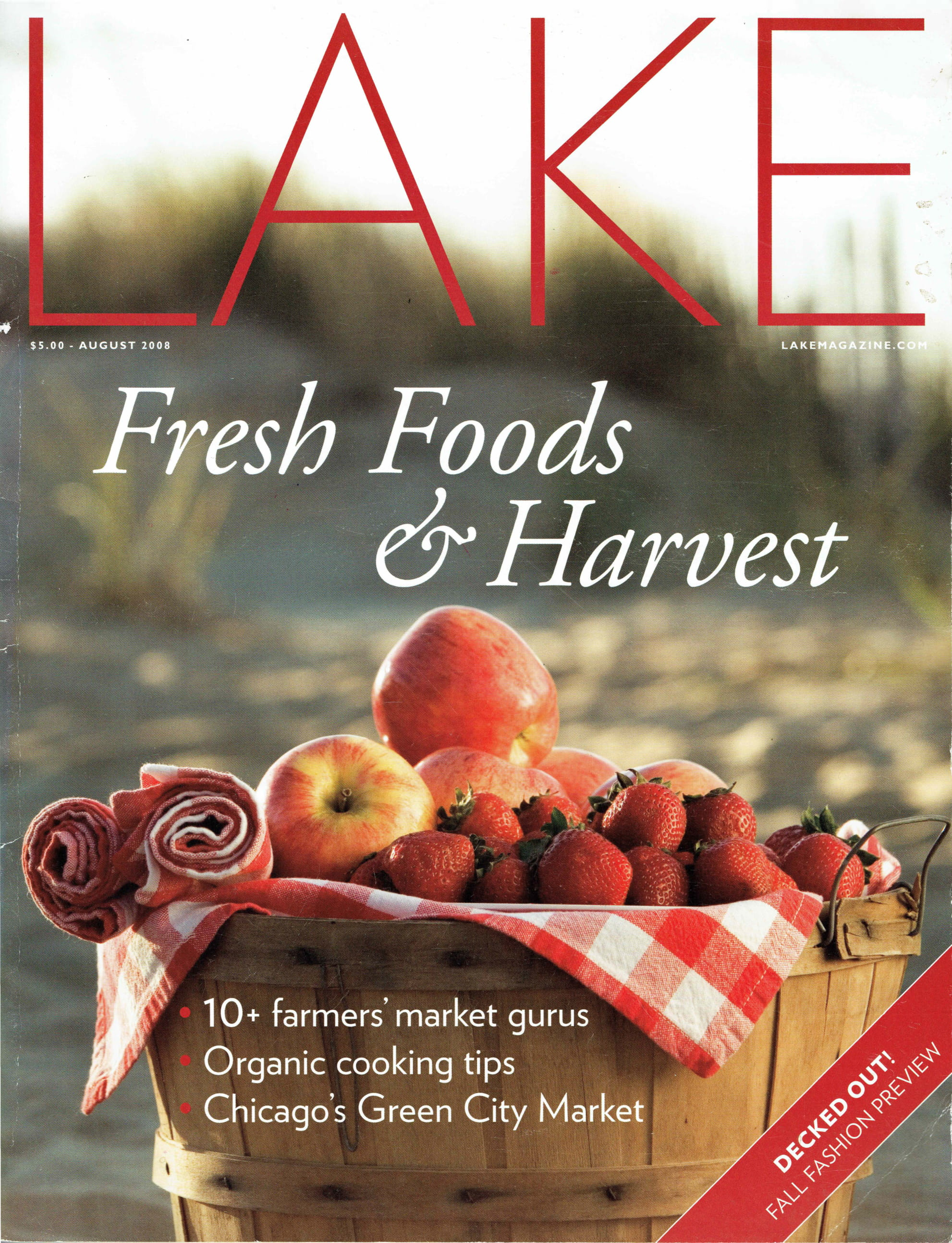 Lake Magazine - Aug 2008 Cover-1
