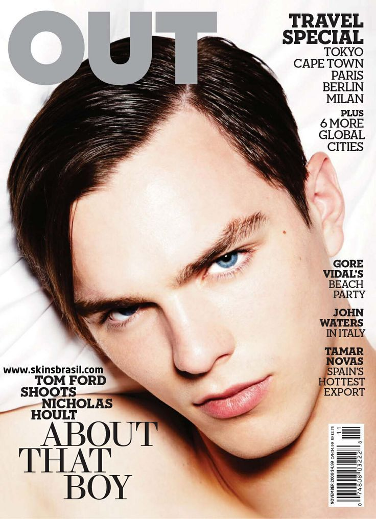 OUT Magazine Nov 2009 Cover
