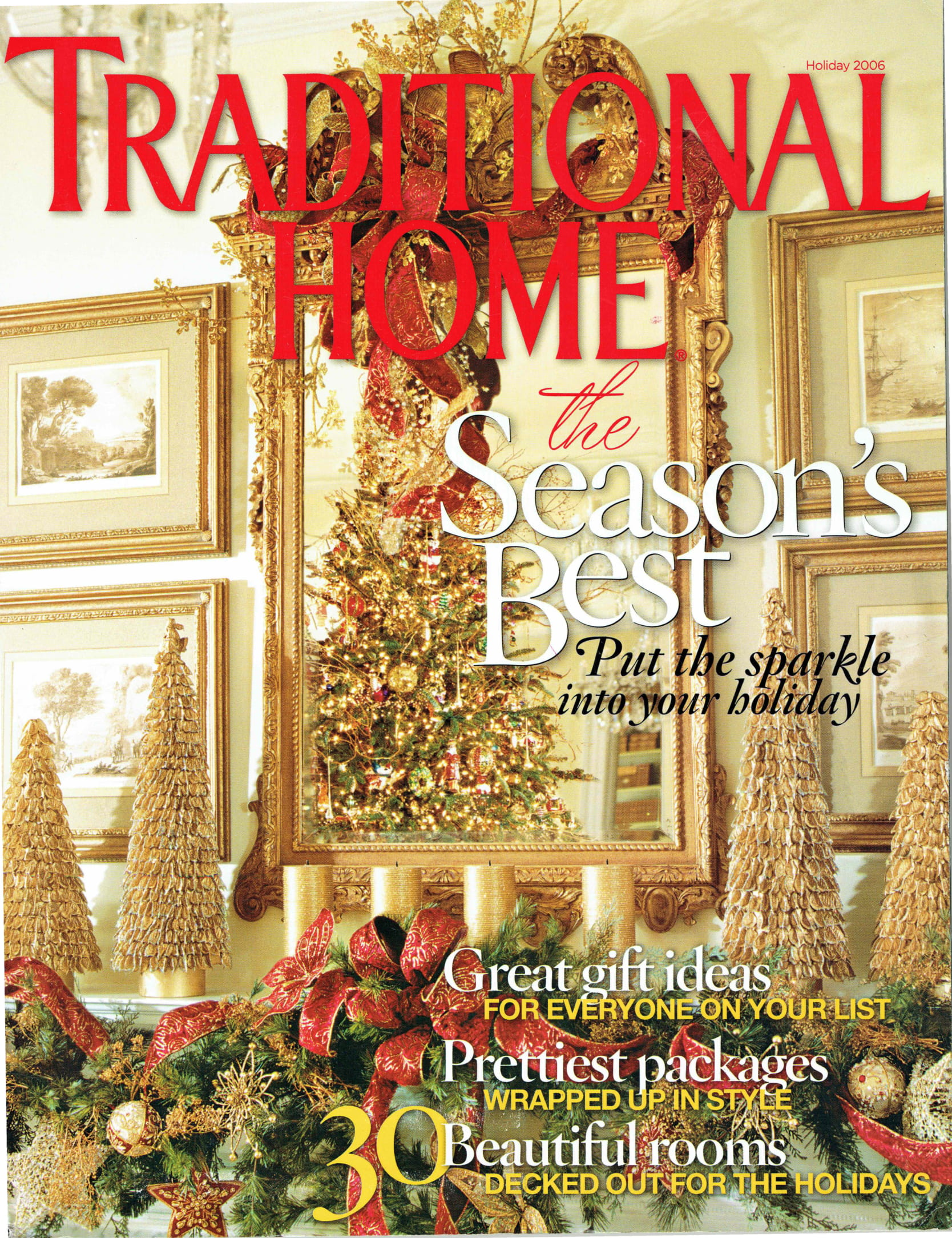 Traditional Home - Holiday 2006 Cover-1