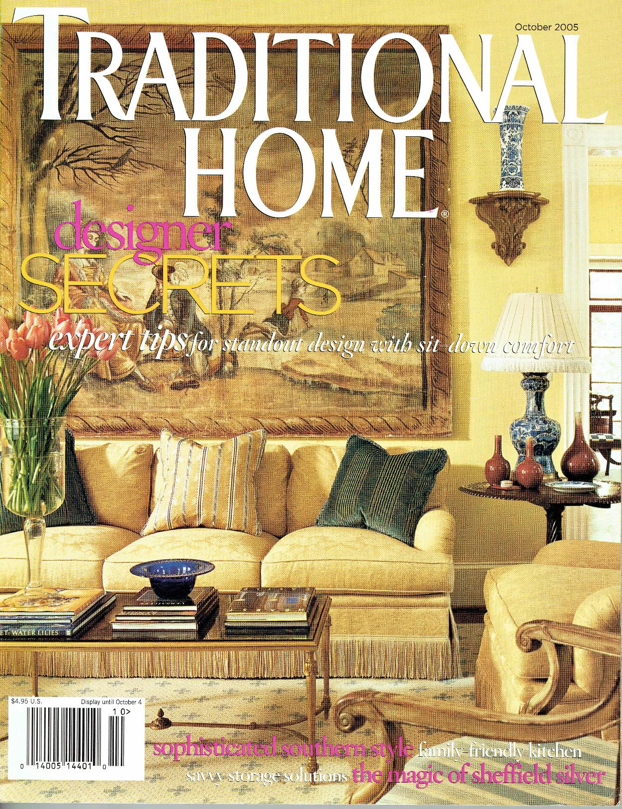 Traditional Home October 2005 Cover-page-001