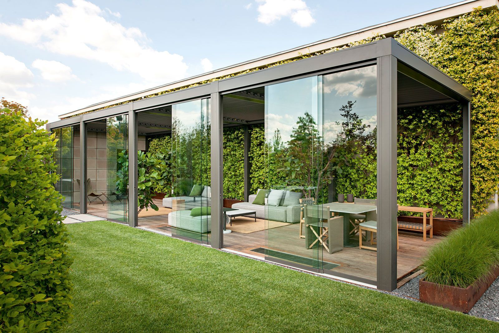 Sliding Glass Walls for Outdoor Spaces