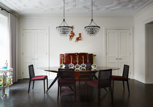 Dining Room Redesigned By Marshall Erb