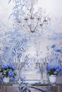 le brasil design in mer bleue